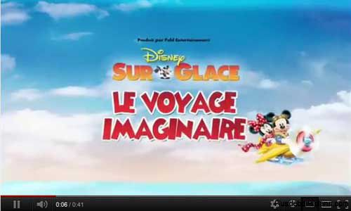 video disney sur glace 2012 2013
