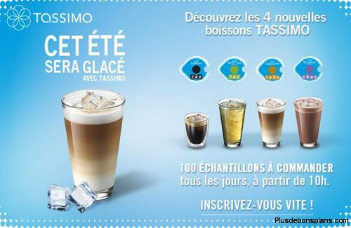 tassimo ice t discs gratuits 4 accesoires offerts. Black Bedroom Furniture Sets. Home Design Ideas