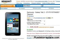 samsung galaxy tab 2 chez amazon