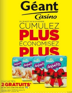 Code promotion geant casino drive