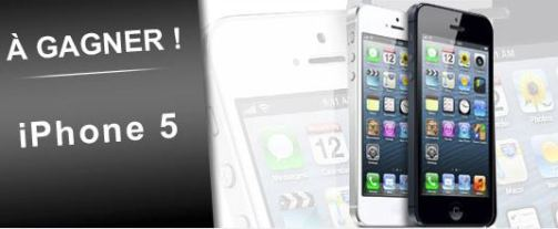 gagner un iphone 5 facebook