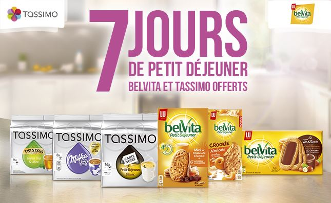 bon d achat tassimo belvita de r duction. Black Bedroom Furniture Sets. Home Design Ideas