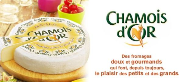 fromage chamois d'or