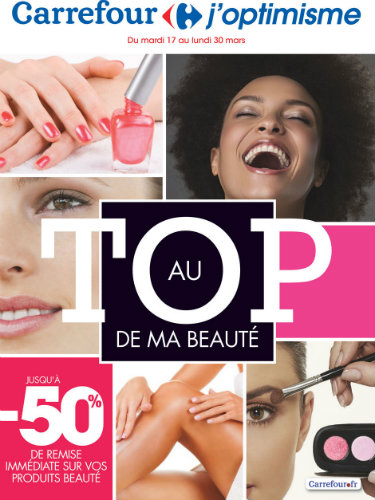 catalogue carrefour beaute