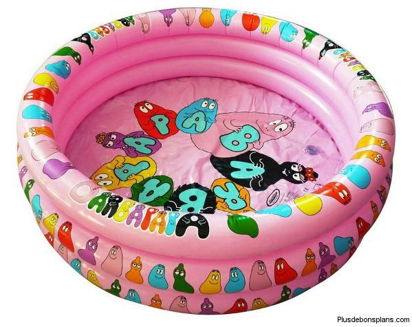 piscine gonflable barbapapa pour enfant 5. Black Bedroom Furniture Sets. Home Design Ideas