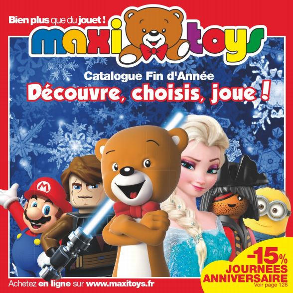 catalogue maxitoys no l 2015 de fin septembre fin novembre