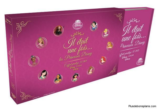 Coffret Dvd Disney Princesse Coffret-dvd-princesses