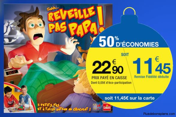 jeu r veille pas papa goliath 50 chez carrefour. Black Bedroom Furniture Sets. Home Design Ideas