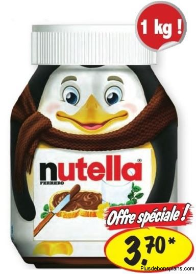 pot de nutella 1kg chez lidl pour. Black Bedroom Furniture Sets. Home Design Ideas