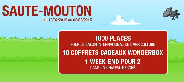 Salon de l 39 agriculture 2015 paris entr e gratuite gagner for Billet salon de l agriculture