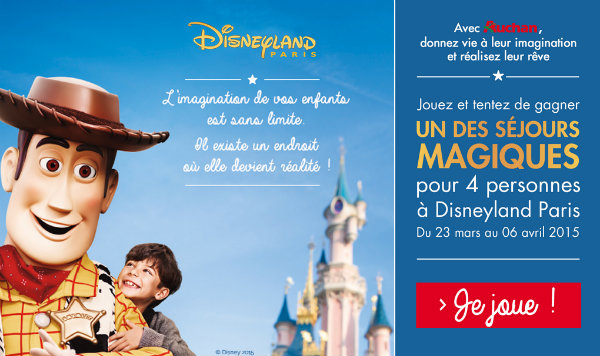 jeu auchan avec 147 s jours disney gagner. Black Bedroom Furniture Sets. Home Design Ideas
