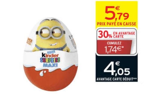 oeuf kinder surprise minion