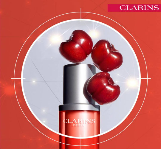 échantillons clarins sérum mission perfection