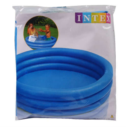 Action piscine ronde pas ch re pour enfant for Piscine 3 boudins intex