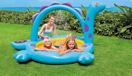 Soldes 2015 piscine gonflable dinosaure 8 51 for Piscine dinosaure