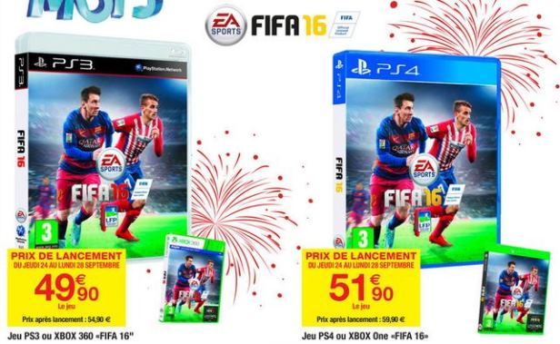 fifa  moins cher ps xbox one pc
