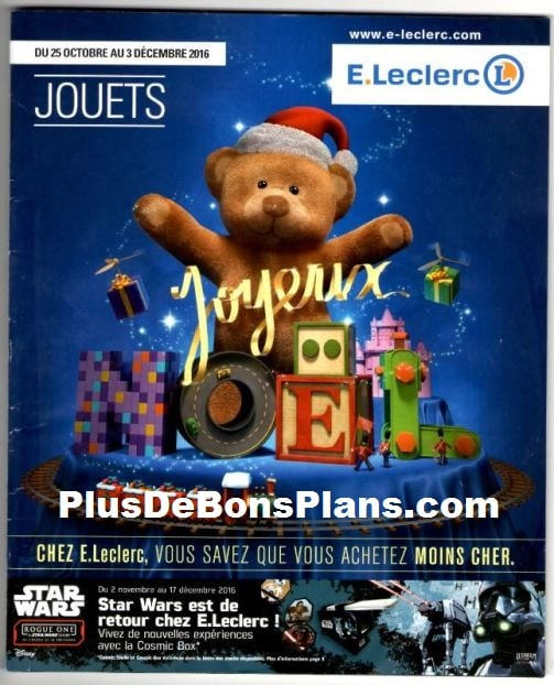 catalogue leclerc noël 2016