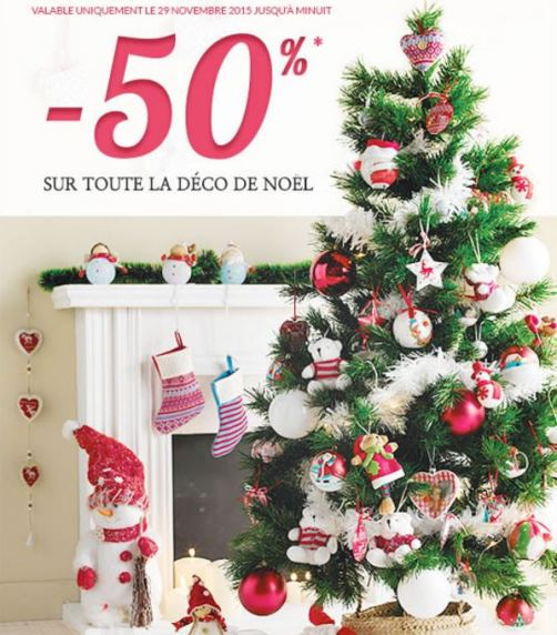 D coration tati no l 2015 50 sapins boules et - Tati decoration noel ...