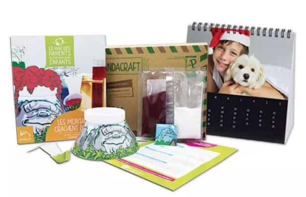 kit pandacraft avec un calendrier photo offert