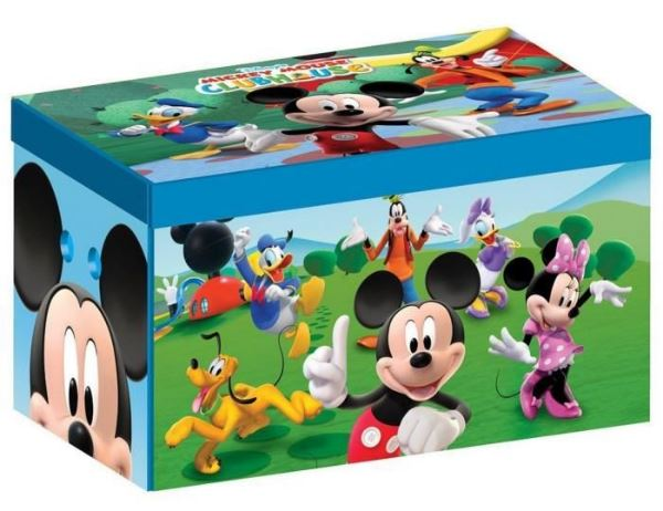 cdiscount coffre jouets mickey 11 51. Black Bedroom Furniture Sets. Home Design Ideas