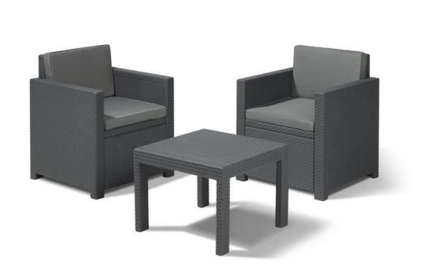 salon de jardin victoria 2 places 104 49 sur cdiscount. Black Bedroom Furniture Sets. Home Design Ideas