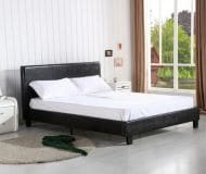 cdiscount lit barcelona coffre adulte 140 x 190cm sommier m tal 199. Black Bedroom Furniture Sets. Home Design Ideas