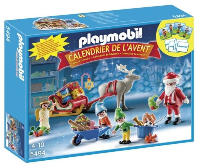 calendrier de l 39 avent playmobil p re no l 2016 moins cher. Black Bedroom Furniture Sets. Home Design Ideas