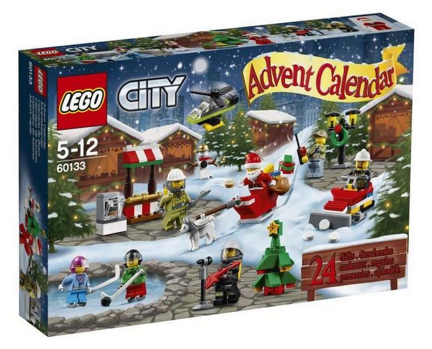 calendrier de l 39 avent lego city no l moins cher pour chez auchan. Black Bedroom Furniture Sets. Home Design Ideas