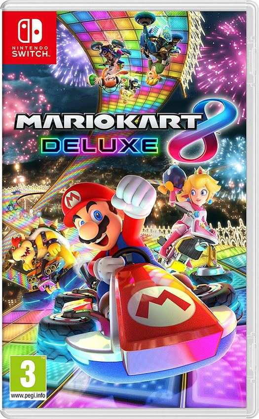 pr commande mario kart 8 deluxe nintendo switch o l 39 acheter moins cher. Black Bedroom Furniture Sets. Home Design Ideas
