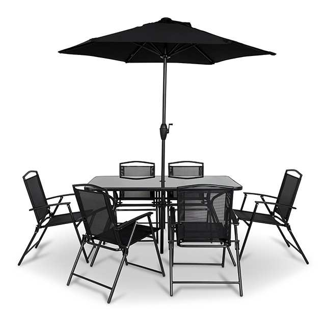 Meuble de jardin castorama salon de jardin blooma bellco for Table extensible blooma