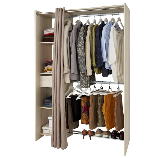 meuble dressing castorama dress up armoire dressing. Black Bedroom Furniture Sets. Home Design Ideas