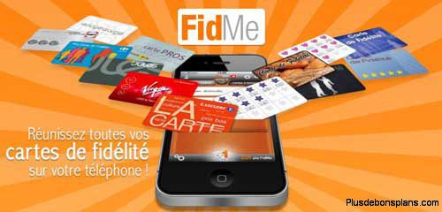 application gratuite fidme