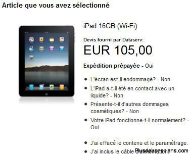 exemple rachat ipad par apple