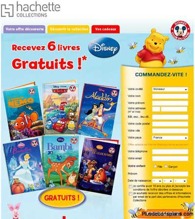 livres disney gratuits chez hachette. Black Bedroom Furniture Sets. Home Design Ideas