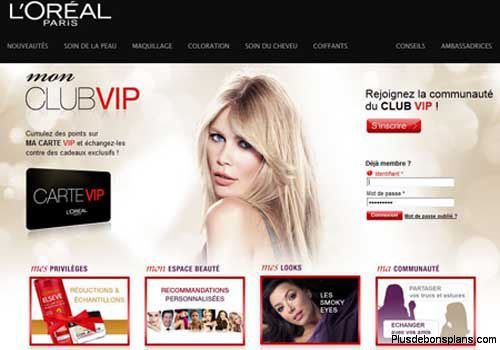 points club vip l'oréal
