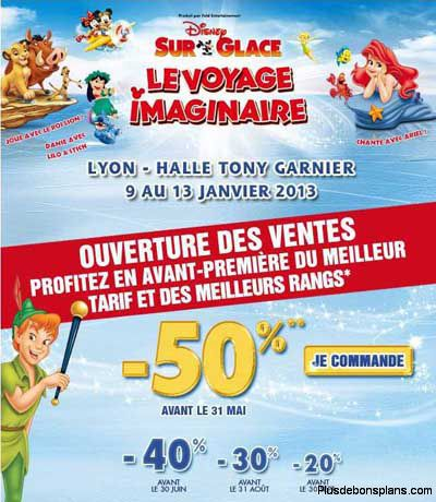 reduction disney sur glace 2012 2013