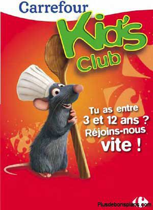 carrefour kids club