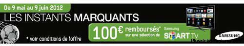 tv led samsung promo 100 euros