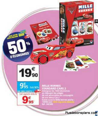 2 jeux mille bornes cars 2 0 car 100 rembours. Black Bedroom Furniture Sets. Home Design Ideas