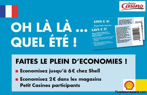 bon plan carburant 8 euros offerts shell