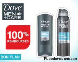 dove men care 100% remboursé