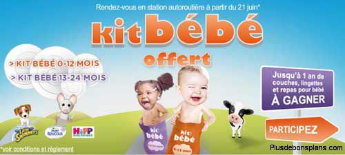 kit bebe total 2012 offert