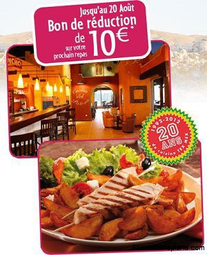 bon de réduction restaurant el rancho