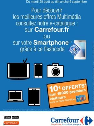 carrefour 10 euros offerts sur votre compte fid lit. Black Bedroom Furniture Sets. Home Design Ideas