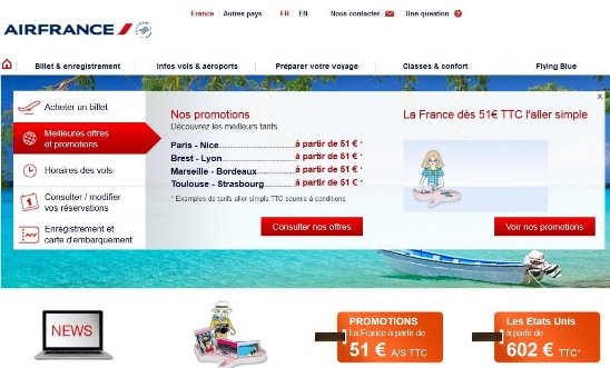 billet avion air france 49 euros