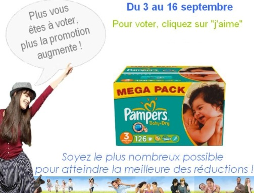 bon reduction pampers