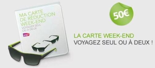 cartes reduction voyages sncf à 50 euros