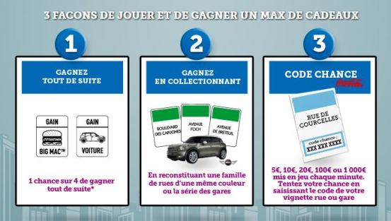 conditions pour participer au monopoly max 2012