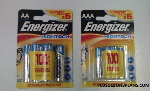 piles energizer hightech