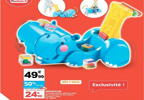 jouets hippopocub de fisher price